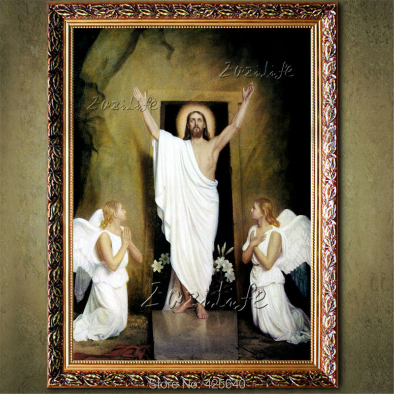 home decor jesus christ painting the portrait of jesus art decor painting print giclee art print on canvas ready to frame 19