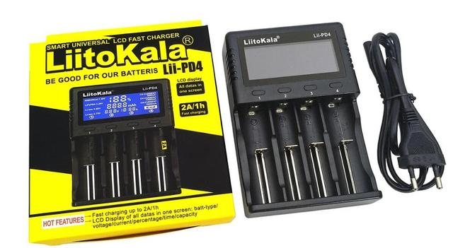 Liitokala Lii-500 Lii-PD4 Lii-500S LCD 3,7 V 18650, 18350, 18500, 21700 20700B 20700 de 14500, 26650 AA NiMH cargador de batería de litio