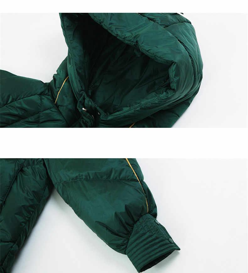 KMETRAM зимняя куртка женская одежда 2019 утиный пуховик Женская Корейская длинная куртка с капюшоном Женская Теплая Куртка парка Mujer MY3288