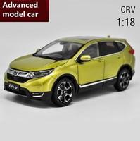 Honda нью crv модель автомобиля 1:18 advanced сплав коллекция игрушка автомобиля, литья под давлением Металл Модель, 6 открытых дверей, бесплатная дос