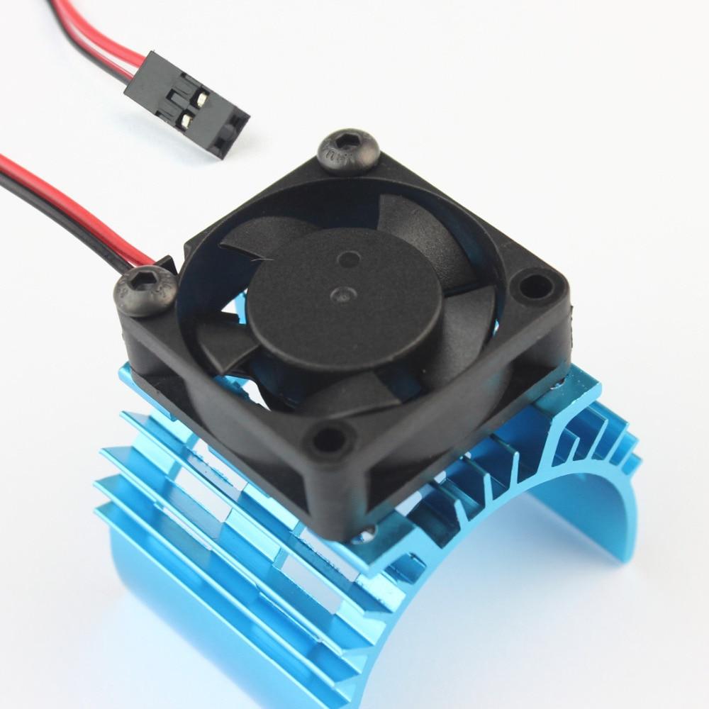 540 550 motor radiator aluminum heat sink with 5V cooling fan JST connector