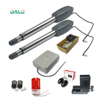 Wireless Remote Control Heavy Duty Automatic Double Swing Driveway Gate Openers Closers