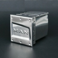 1PC 1/14 Mud Truck MAN Battery Box Stainless Steel G 6149 Battery Storage Case for TAMIYA Tractor RC Cars Upgrade Modification