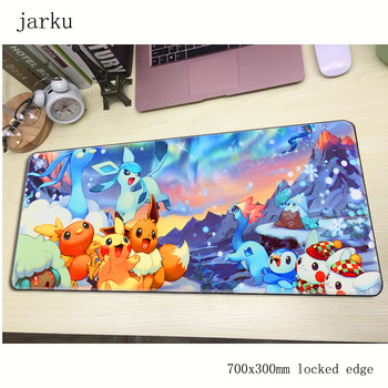 Pokemons mousepad gamer 700x300X3MM gaming mouse pad large High quality notebook pc accessories laptop padmouse ergonomic mat 1