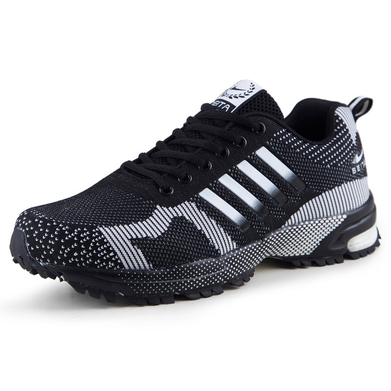 New style Running Shoes for men women Athletic sports shoes sneakers trainers mesh Breathable Lightweight men running shoes breathable summer spring leather walking sports shoes lightweight trainers athletic sneakers m41108
