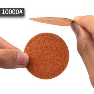 Image 5 - POLIWELL 50 sztuk 1 Cal Grit 1000/3000/5000 tarcze szlifierskie wodoodporna uciekają papier ścierny do małej powierzchni w porządku do polerowania
