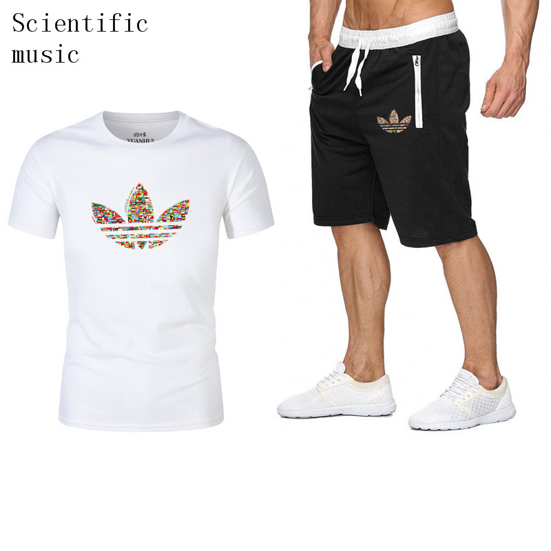 quality-men's-sets-summer-hot-sale-men's-sets-t-shirts-shorts-two-pieces-sets-casual-tracksuit-male-gyms-workout-fitness-sets