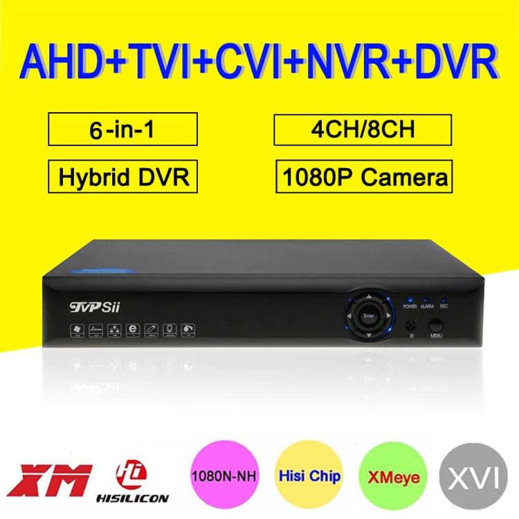 1080P/960P/720P CCTV Camera XMeye Blue-Ray Panel Hi3520D 1080N 4CH/8CH 6 in 1 Hybrid Coaxial NVR CVI TVI AHD DVR FreeShipping1080P/960P/720P CCTV Camera XMeye Blue-Ray Panel Hi3520D 1080N 4CH/8CH 6 in 1 Hybrid Coaxial NVR CVI TVI AHD DVR FreeShipping