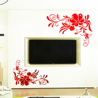 Creative background Wall self adhesive Acrylic home decor wall sticker mirror house decoration for kids rooms decals