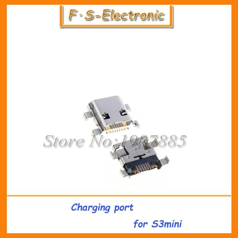 10 шт./лот новый оригинальный для Samsung Galaxy S3 Mini i8190 Micro USB Зарядное устройство зарядки разъем док-станции Порты и разъёмы Бесплатная доставка