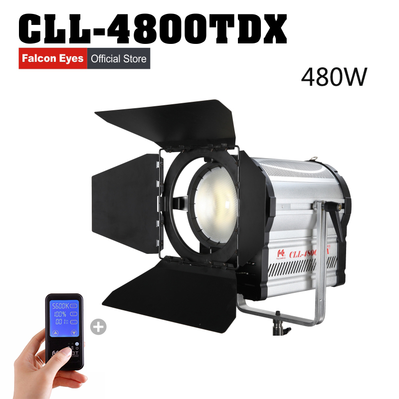 Falconeyes LED Video Studio Spotlight Bi Color Support DMX System Photo Light with Gift of Remote Control Photography Equipment in Photographic Lighting from Consumer Electronics