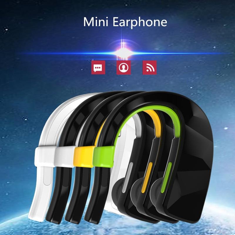 High Quality Stereo Mic Bluetooth Headset Adjustable Earphone Mini Wireless Handfree Headphone for iPhone 7 7Plus Xiaomi Samsung mini wireless bluetooth 4 0 stereo headset earphone headphone for iphone for samsung