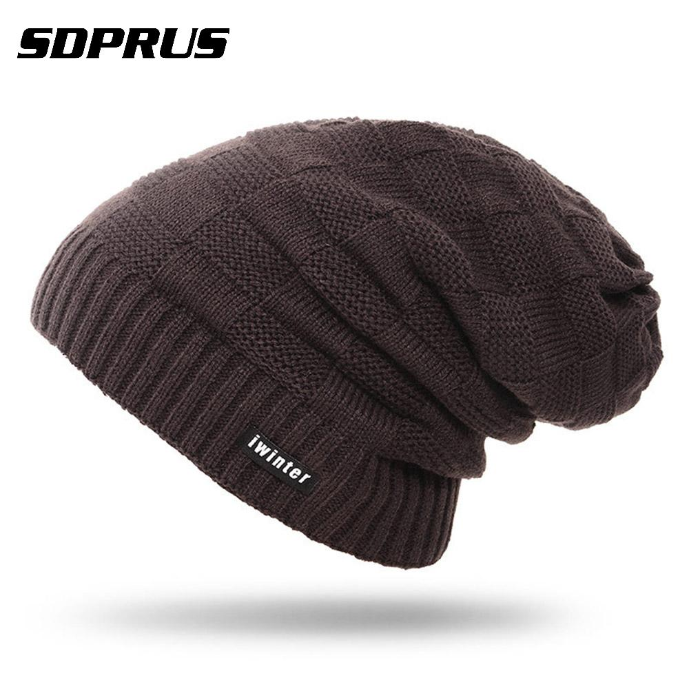 SARMY 23 Winter Wool Cap Warm Beanies Knitted Hat