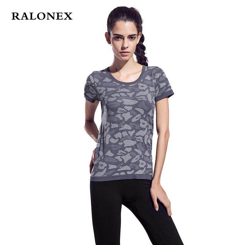 ralonex women sports vetement sport femme fitness breathable running exercises fitness t shirt. Black Bedroom Furniture Sets. Home Design Ideas
