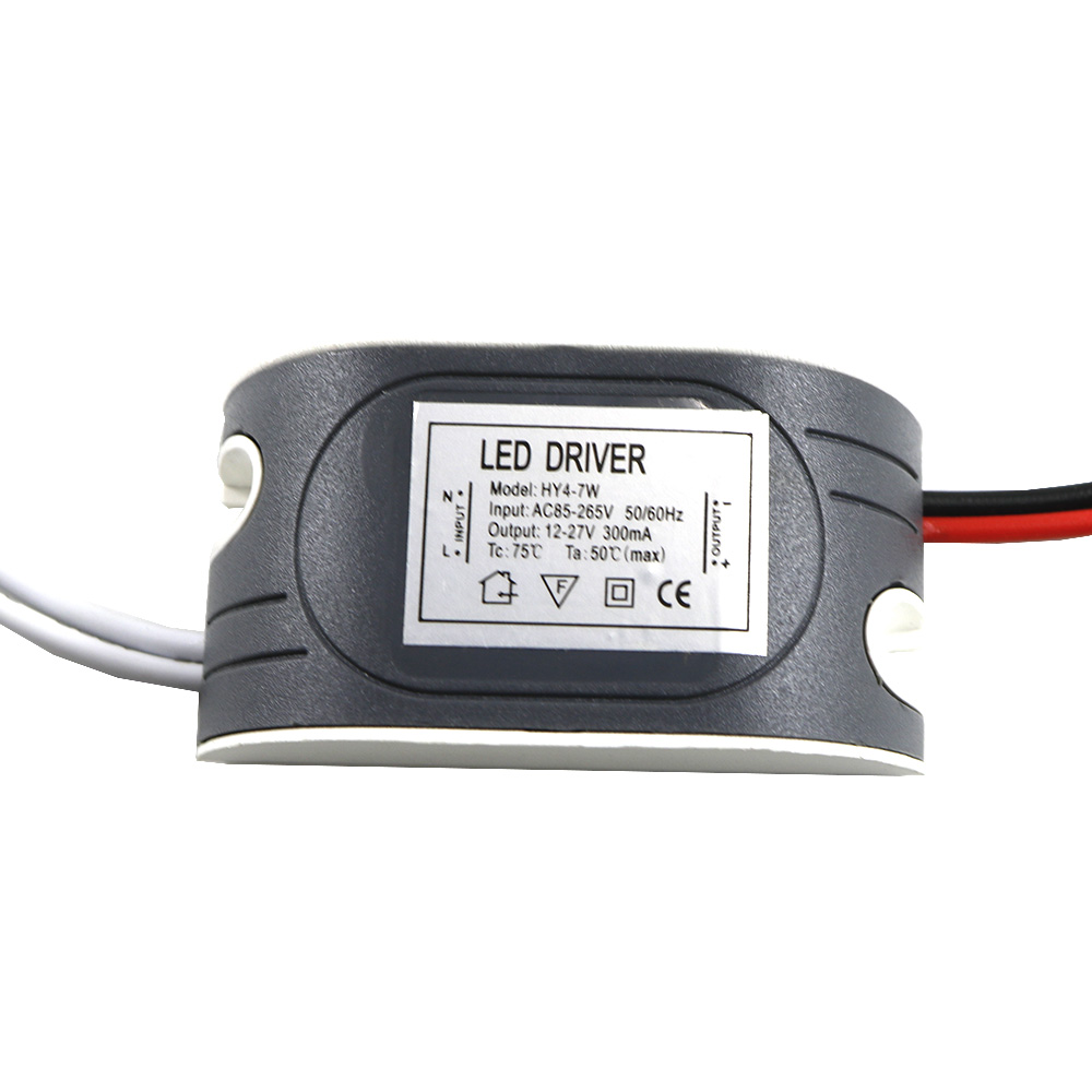 300mA LED External Driver (4-7W)x1W DC 12V ~ 27V Led Driver 4 W 5W 6W 7W Power Supply AC 110V 220V for LED lights Lamps Safe power supply module driver for led ac 85 265v page 4 page 4