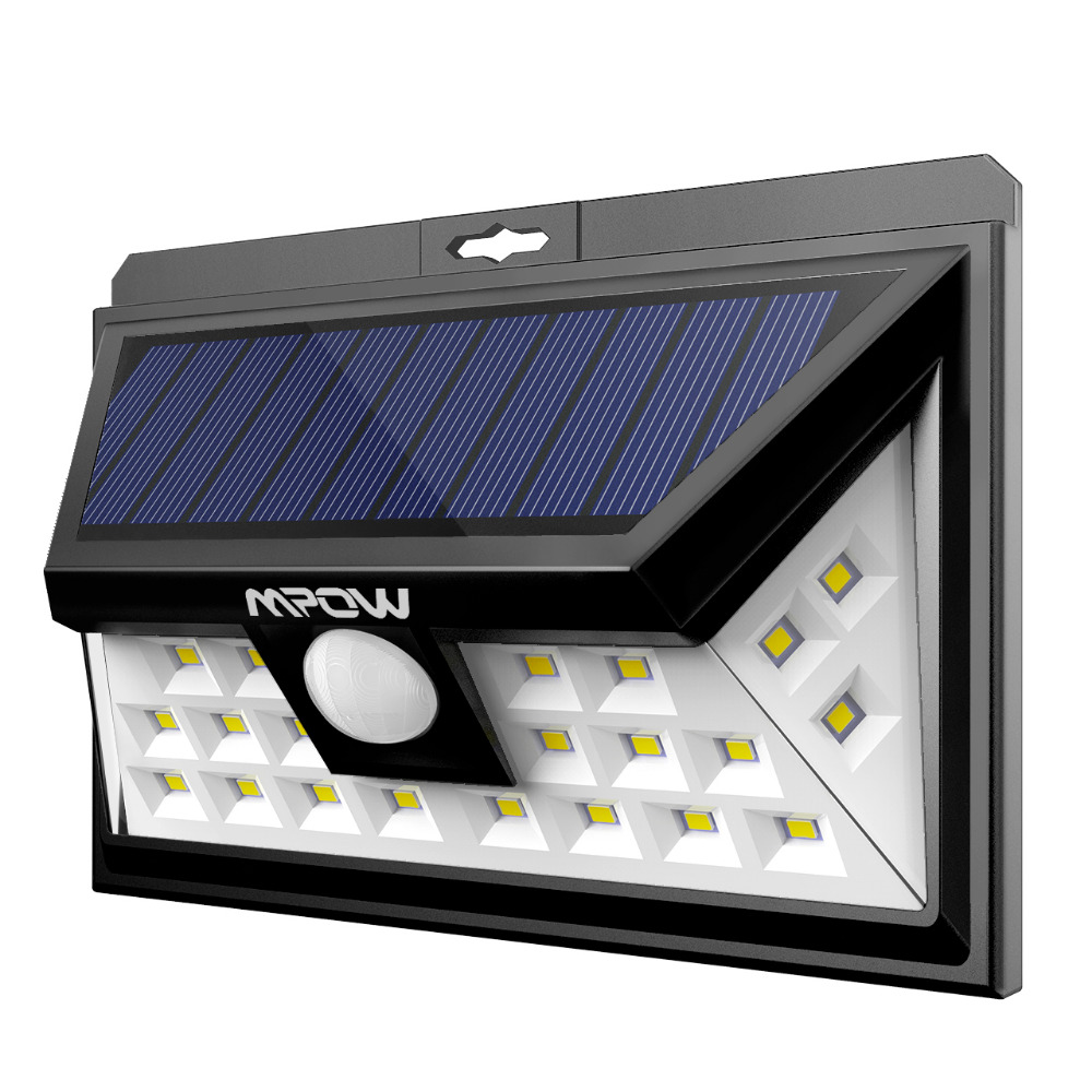 MPOW 24 LED Solar Light (1)