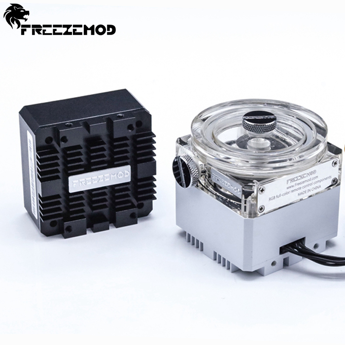 Fan Cooling Computer & Office Pu-gcdcb To Win A High Admiration Friendly Freeze Mod Computer Water-cooled Mute Pump With 6 Meter Flow 960l/h Support Rgb Aura