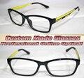 black frame  Geometric pattern legs Optical Custom made optical lenses Reading glasses +1 +1.5 +2+2.5 +3 +3.5 +4 +4.5 +5 +5.5+6
