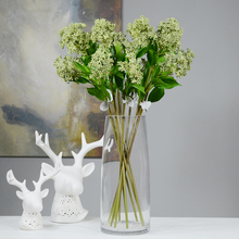 Rinlong Artificial Greenery Stems Green Leaves Foliage Branches for Flower Arrangements Bouquets Events Indoor Party Kitchen все цены