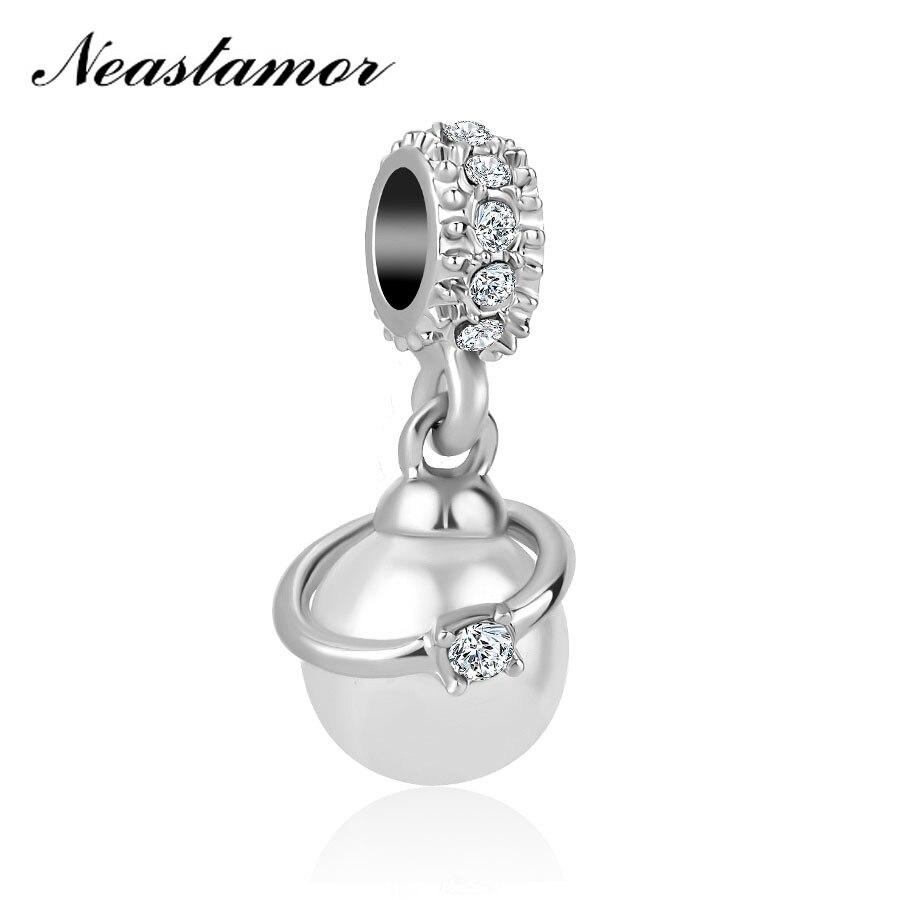 Полый Микки жизнь дерево подвеска в форме короны подходит Pandora браслет или ожерелье с шармами брелок ювелирные изделия для женщин мужчин решений - Цвет: A1355 white