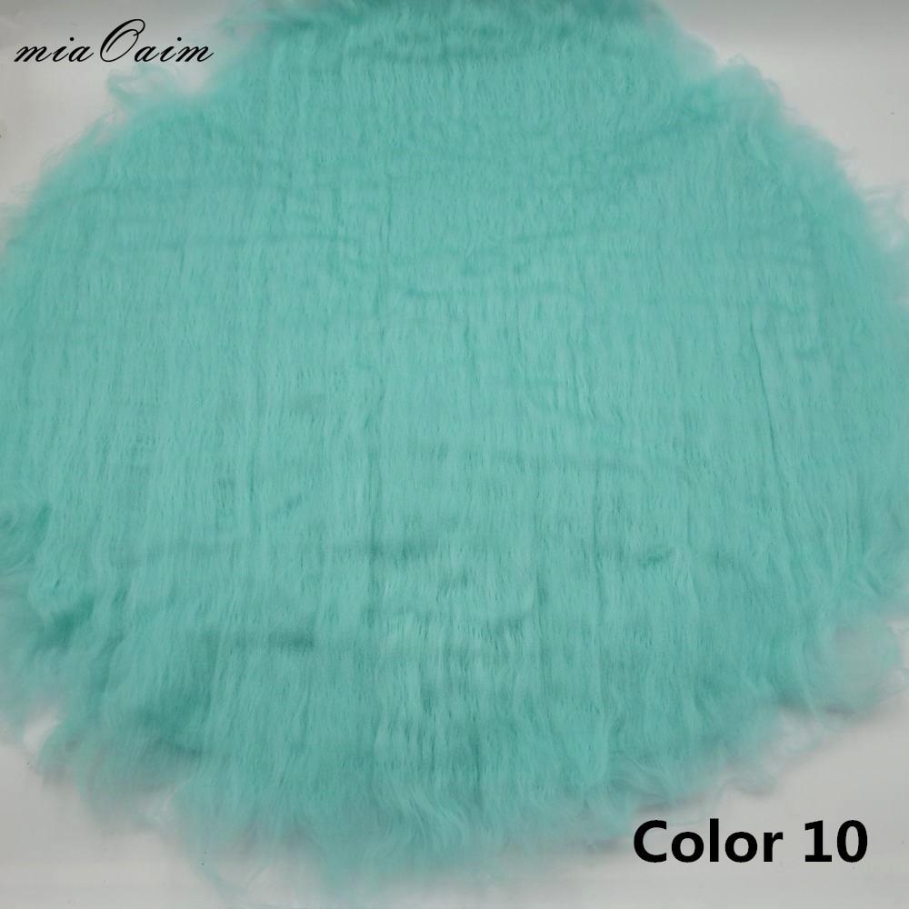 5pcs Lot Handcraft Wool Felted Round Blanket Newborn Baby Photography Props Basket Filler Stuffer Layer Studio