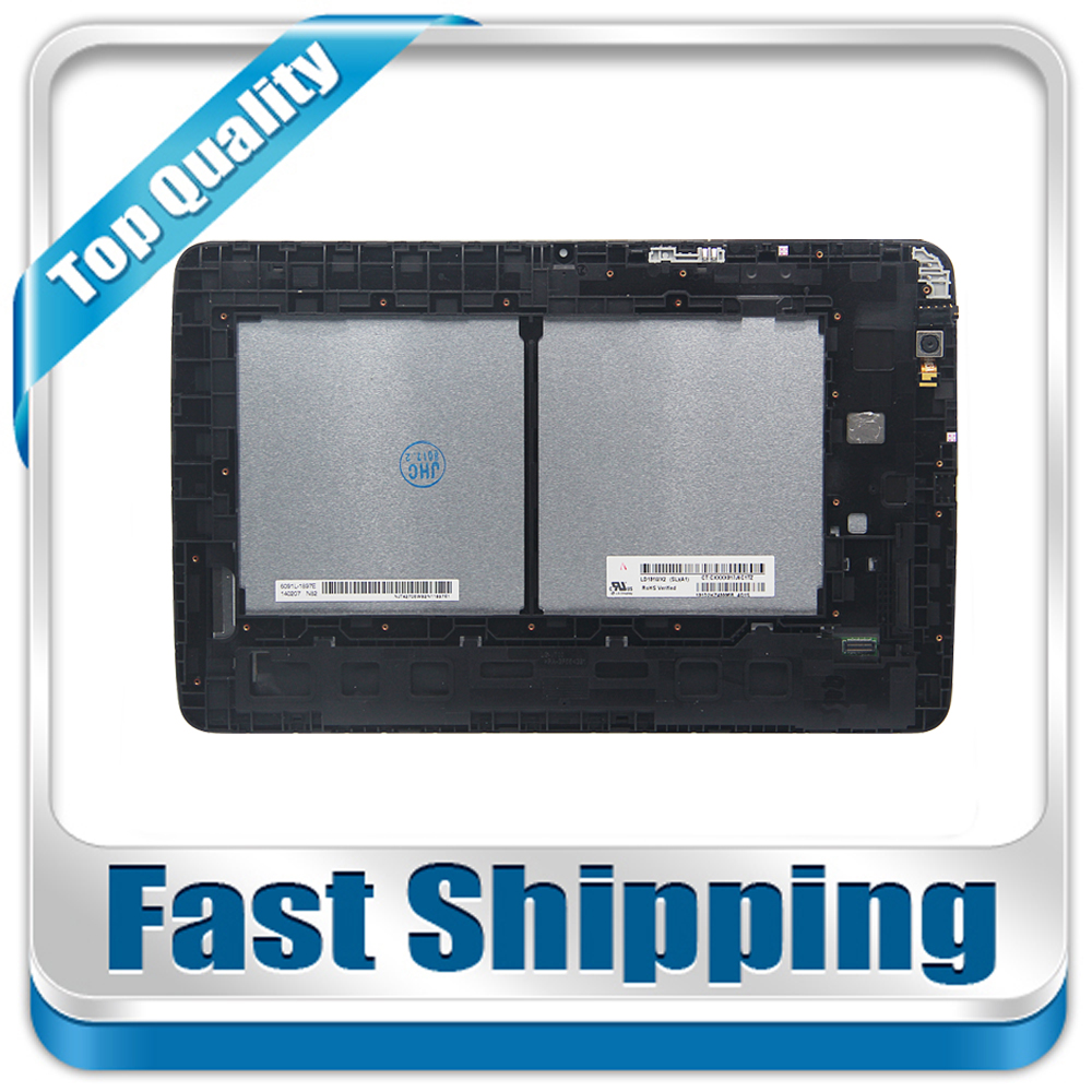 New For LG G Pad 10.1 V700 VK700 Replacement LCD Display Touch Screen with Frame Assembly display for lg gm730