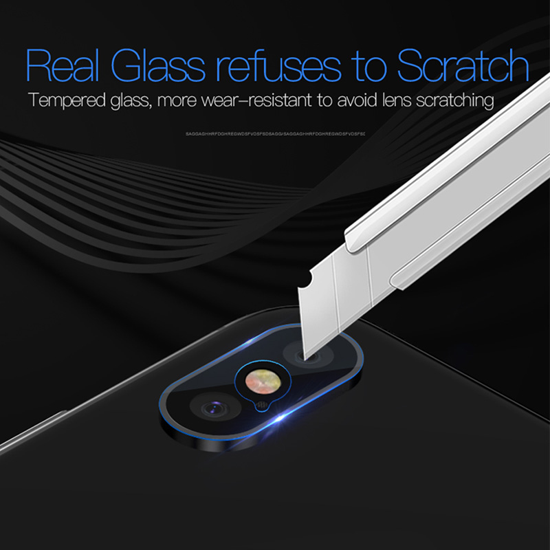 TOTU 2PCS/Lot For iPhone X 10 Camera Len Screen Protector HD Clear Camera Lens Tempered Glass For iPhone X Back Camera Len Film