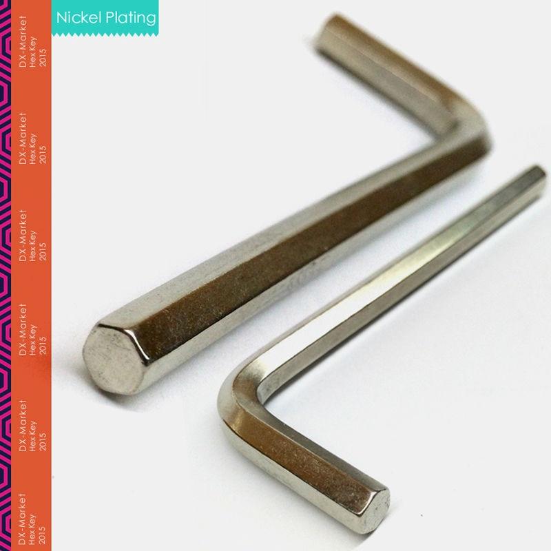 8mm, 5vnt / partija, šešiabriaunis raktas, šešiabriaunis raktas - Rankiniai įrankiai - Nuotrauka 2
