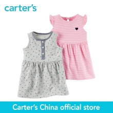 2 pcs bébé enfants enfants 2-Pack Robe de Carter Ensemble 121H434, vendu par Carter de Chine boutique officielle