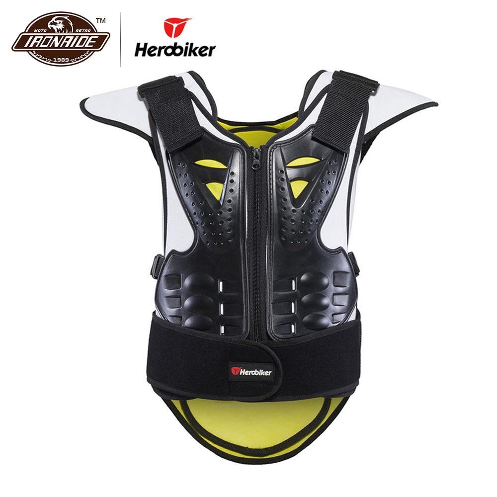 HEROBIKER vyrų moterų motociklų kūno šarvų liemenė Motocross - Motociklų priedai ir dalys - Nuotrauka 1