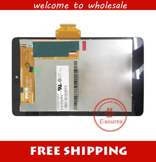 for Asus Google Galaxy Nexus 7 ME370 Full Wifi Version LCD Display Screen Panel + Touch Screen Digitizer Assembly