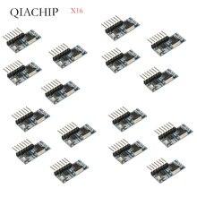 Interruptor de Control remoto inalámbrico, 16 Uds., 433Mhz, relé RF, módulo de aprendizaje de codificación EV1527 para relé de luz, recepción difoda 4CH