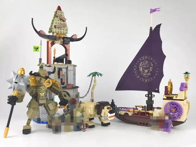 Chronicles of Narnia Building Block Toys Pirate Ship Model Construction Bricks Compatible with Lepins DIY Model Figures Toys susengo pirate model toy pirate ship 857pcs building block large vessels figures kids children gift compatible with lepin