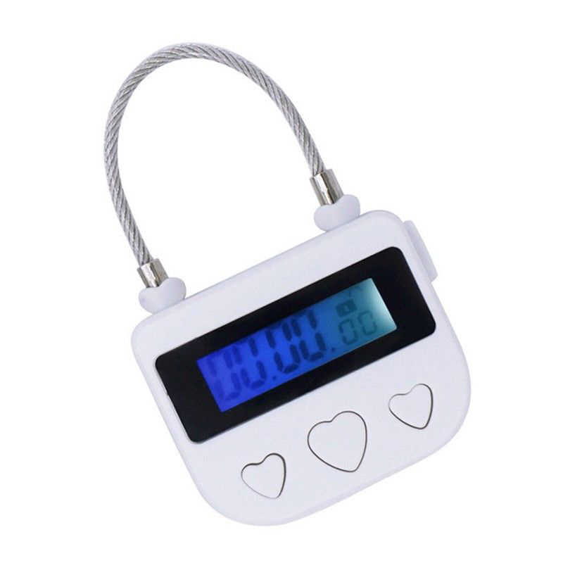 Newly Multipurpose USB Time-Lock Electronic Timer Tool for Ankle Handcuffs Mouth Gag JLRD 2019
