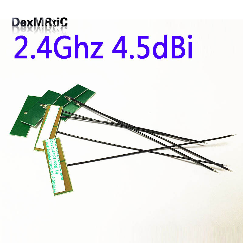 2.4Ghz 4.5dbi Internal PCB Antenna ZigBee Welding Bluetooth Slodering Aerial #2 Wifi Antenna Connector