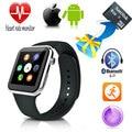 2016 nova a9 smartwatch bluetooth relógio inteligente para apple iphone & samsung android telefone reloj relogio inteligente relógio de smartphones