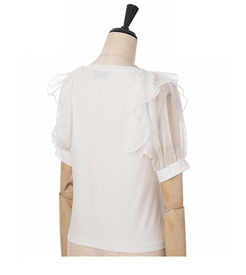 Neko gato Sailor moon Artemis e luna lua bordado amor Tshirt da camisa top  tee mulher meninas sweet lolita em Camisetas de Roupas das mulheres no ... 20f6f383b62