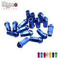Dyno racing -  20 PCS/set Universal Racing Wheel Lug Nuts M12X1.25/1.5 FOR Honda Toyota Ford /Wheel Nuts Screw