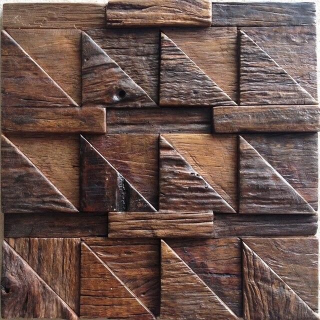 Xmm X Wood Tile Bathroom Shower Tiles Wooden Mosaic Wall - 12x12 tile shower walls