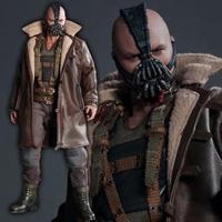 Batman Cosplay Costume The Dark Knight Rises Bane Costume Coat Jacket Version 1 Halloween Party Adult