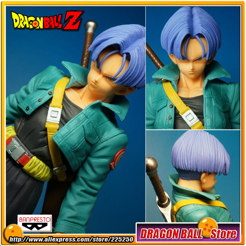 Japanese Anime DRAGONBALL Dragon Ball Z/Kai Original BANPRESTO Master Stars Piece / MSP Series Toys Action Figures - The Trunks 19cm hot banpresto msp comic anime akira toriyama dragon ball z the freeza frieza freezer final state