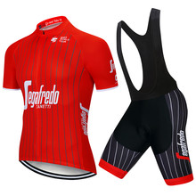 2019 summer uci Cycling Clothing Bike jersey Quick Dry Mens Bicycle clothing Trekking team Cycling Jersey gel bike shorts set 9D цена в Москве и Питере