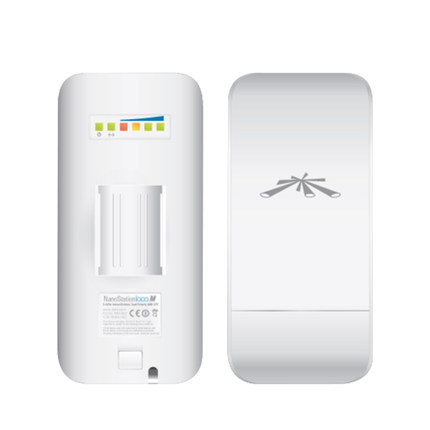 Ubiquiti NanoStation LocoM2 2.4GHz Wireless Network Bridge AirMax 8dBi CPE Within 1 KM (Only One!!! Must Be Used With Two! )