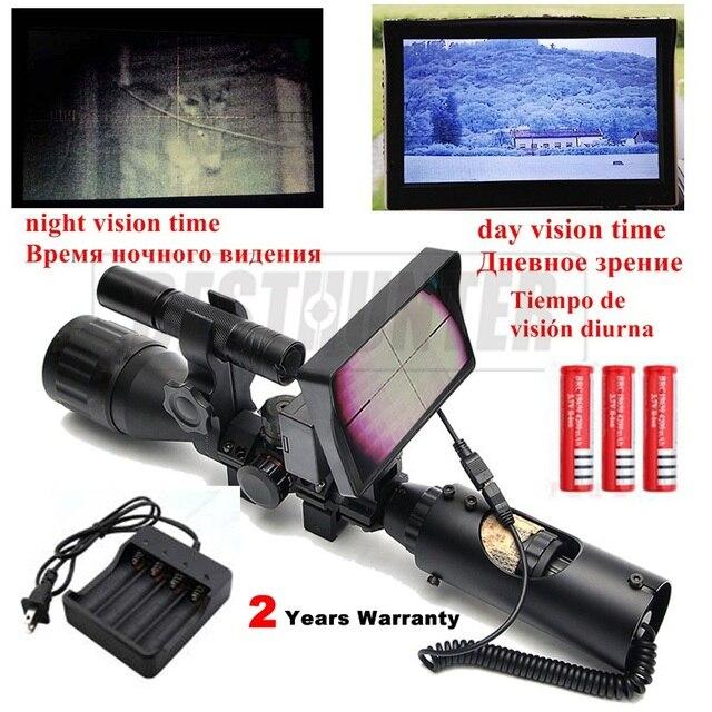 200 м ночного видения прицелы для охоты прицелы Ночной прицел оптический ночной охотничий снайперский Сфера воздуха винтовка пистолет 2 года гарантии