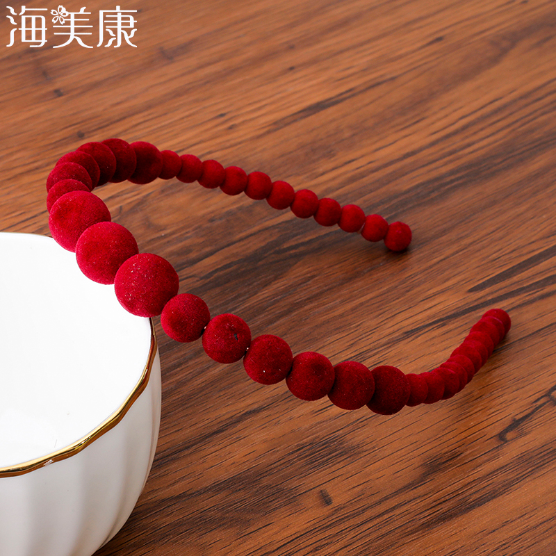 Haimeikang Large Pearls Headband Women Wedding Bridal Hair Accessories Hair Band Hair Hoop Girls   Headwear   Wedding Pearl Jewelry