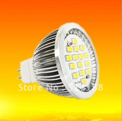 30pcs MR16 7W LED Spot Lamps Warm&Cool White 15leds SMD Light High Lumens Ultra Bright Intensity Lamp