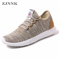 ZJNNK New Luxury Men Shoes Youth Boys Fashion Shoes Easy To Match Breathable Men Casual Shoes Summer Hot Sale