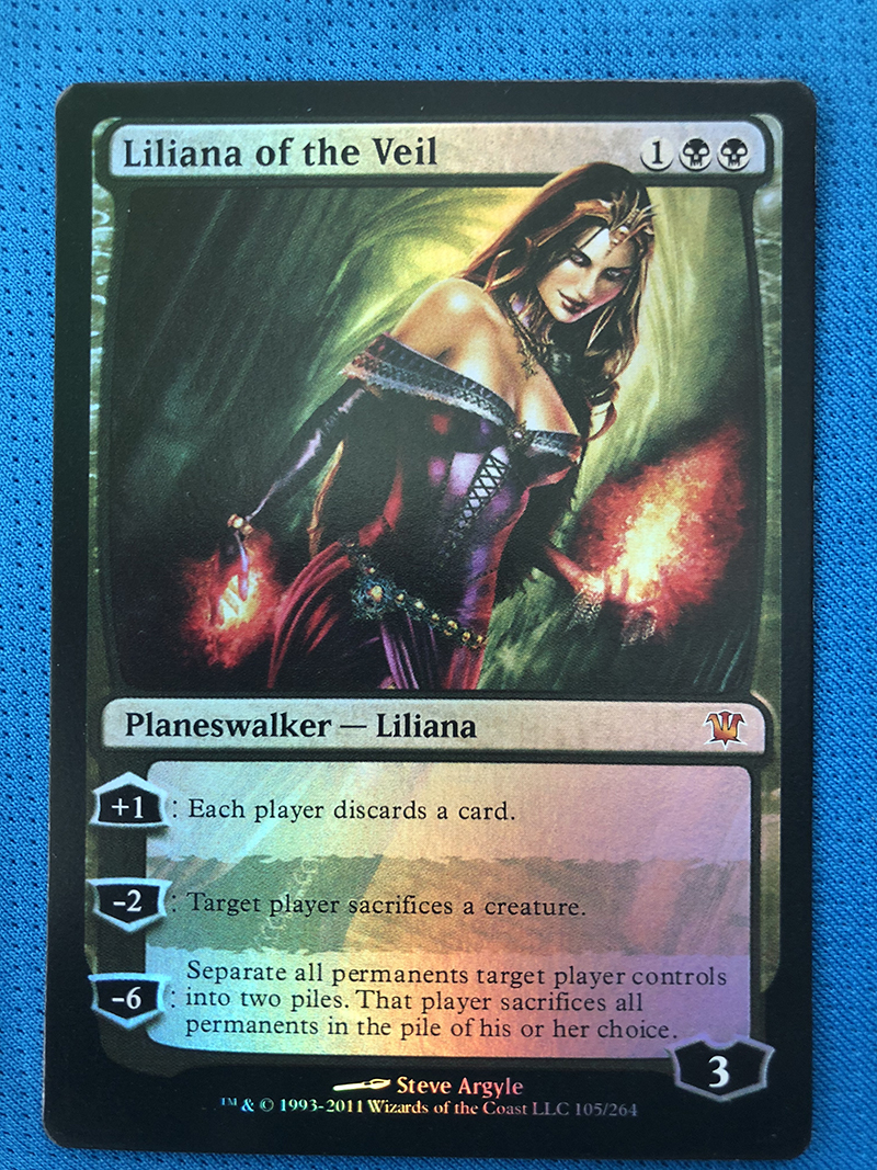 Liliana Of The Veil Innistrad Foil Magician ProxyKing 8.0 VIP The Proxy Cards To Gathering Every Single Mg Card.