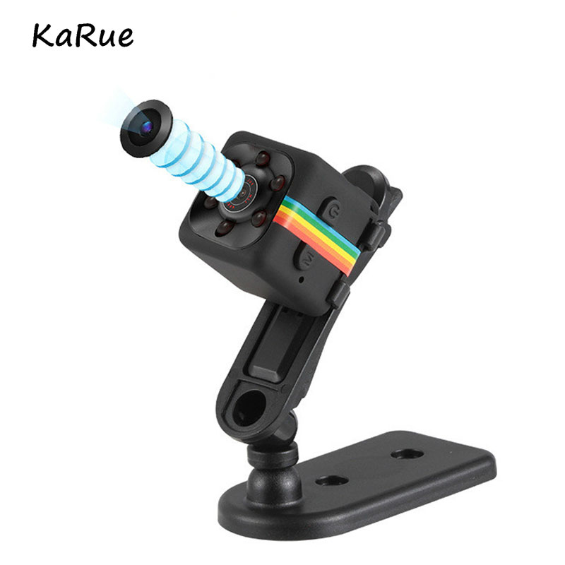 Galleria fotografica KaRue Original Mini Camera SQ11 HD Camcorder HD Night Vision Mini Camera 1080P Aerial Sports Mini DV Voice Video Recorder