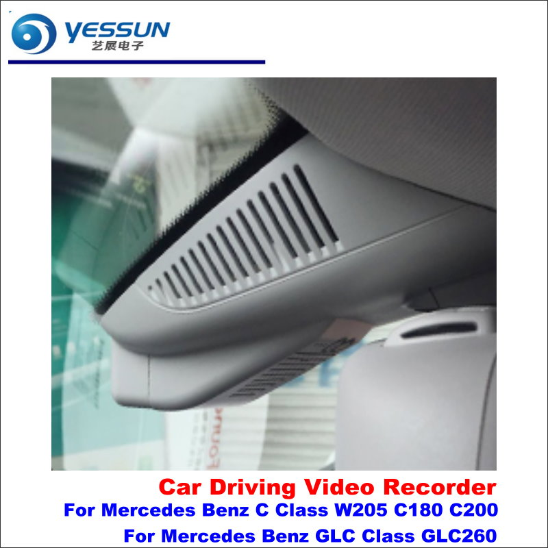 YESSUN For Mercedes Benz C Class W205 C180 C200 GLC Class GLC260 Car DVR Driving Video Recorder Front Camera AUTO Dash CAM